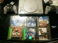 PlayStation 1 complete with 6 games Biloxi, 39532