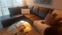 bonded leather sectional Toronto, M5V 3Y3