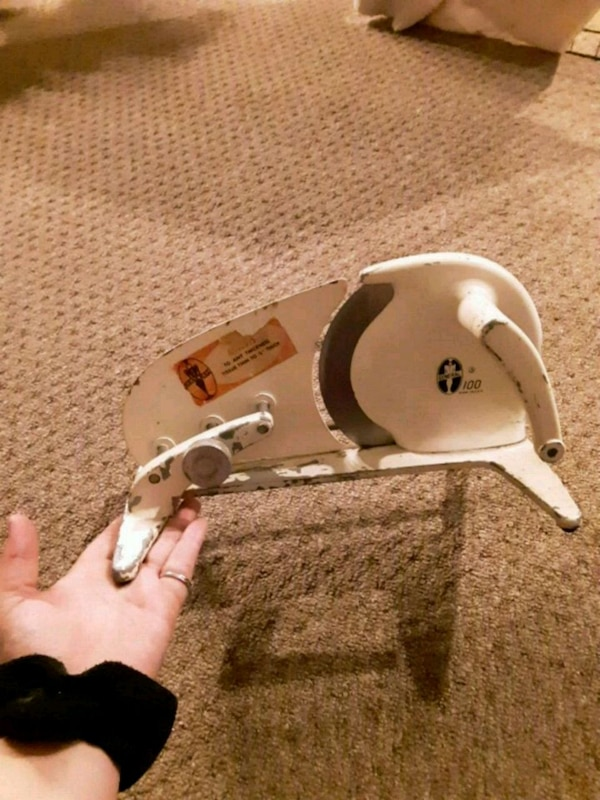 Vintage countertop meat slicer