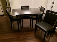 Dining table with chairs  Vancouver, V5R 5G9