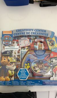 Paw Patrol Creativity Center