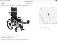 Wheelchair high back