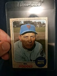 Gil Hodges Mets Manager Card Brentwood, 11717