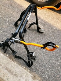 Grabber trunk rack for 1 bicycle