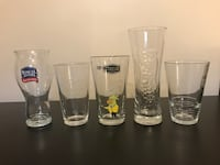 Pint Glasses and Glassware Barrie, L4N 2X6