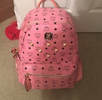 Pink Mcm backpack Quantico, 22134