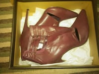 pair of brown leather boots Sapulpa, 74066