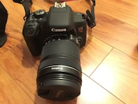 Canon T6i / 750D DSLR Camera Body +Canon EF-S 18-135mm + EF 50mm TORONTO