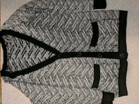 gray and black cardigan  Whitby, L1N 4S4