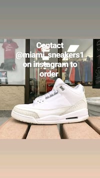 Contact @miami_sneakers1 on instagram to order  Jacksonville, 32223