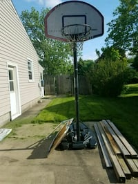 black and white basketball system Youngstown, 44514