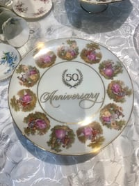 Huge vintage love story Germany cake/cookie plate  Hamilton, L9A 1T3