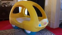 yellow and blue Little Tikes cozy coupe Hagerstown, 21740