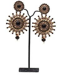 Antique earrring, black in color  King Of Prussia, 19406