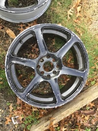 RIMS 17inch was on a Honda Civic 4X100