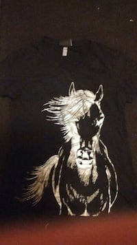 Silver and black horse T- shirt Ronda, 28670