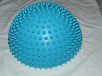 "Fitness balance ball by Forza - half moon shape, 12"" diameter - $25 Mississauga"