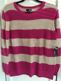Pink striped sweater Dumfries, 22026