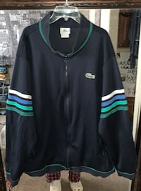 Lacoste 8 Size XXL Dark Blue zip up jacket Reno, 89523