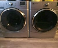 two gray front-load clothes washer and dryer set Laval, H7G 2A8