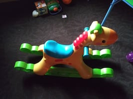 Lights/ noise rocking horse