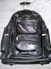 Carry-on suitcase, leather Hooksett