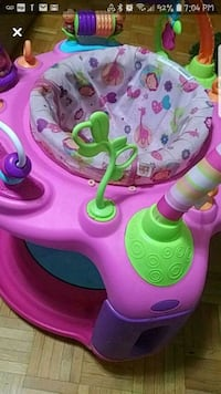 baby girl saucer bouncer