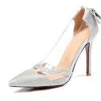 Women's silver pumps - New size 12US Mississauga, L4Z 3E5