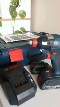 black and red cordless power drill Toronto, M1T 2G5
