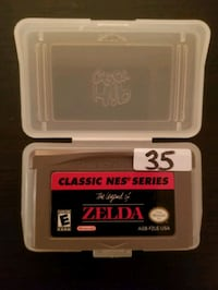 Zelda Classic NES Series for Gameboy Advance  Vaughan, L4L