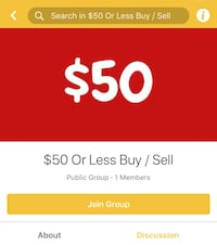 New Facebook Group $50 and under Buy/Sell Mississauga, L5B 0C1