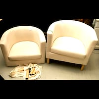 Two IKEA Cotton Chairs Richmond Hill