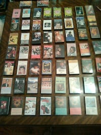 Lots of country cassette