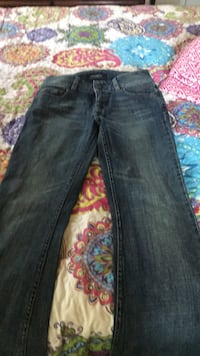 blue denim straight-cut jeans Rockville, 20850