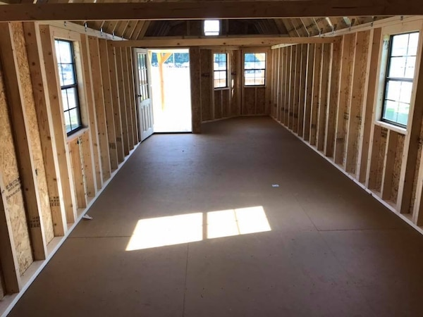 Rent to own 12x40 deluxe lofted barn cabin