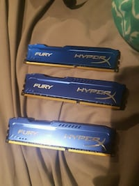 ddr3 brand new.....one 8 gig and two 4 gig  Capital, V9B 0L9