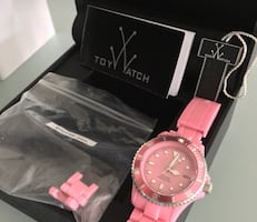 Pink TOY BRAND Watch.