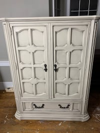 Armoire and matching nightstands