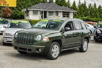 2008 Jeep CompassNorth Edition, 4-Cylinder, Fuel Efificient, Low Km	 Surrey