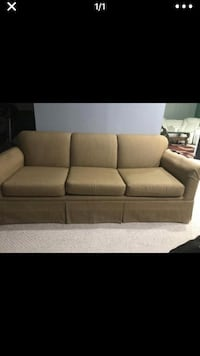Brown golden sofa  Frederick, 21704