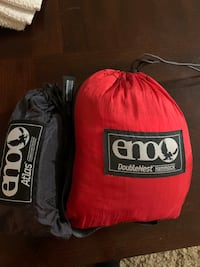 Eno double hammock with straps