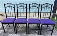 4 chairs in excellent condition (NO STAINS ) San Antonio, 78225