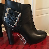 Guess Leather Booties  Brampton, L6R 3N4