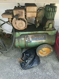 green and black air compressor Sykesville, 21784
