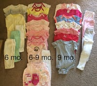 Baby girl 6-9 mo clothing  Frankfort, 60423