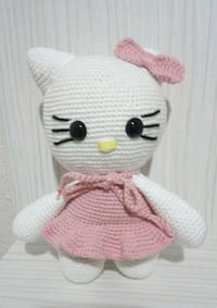Hello kitty Amigurimi organik bebek