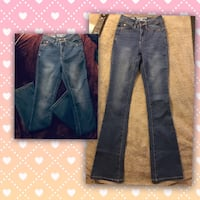 High waist designer jeans 25 London, N6J 1N4