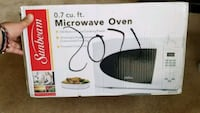 white Sunbeam countertop microwave BRAND NEW Arlington, 22202