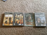 four assorted PS3 game cases Arvin, 93203
