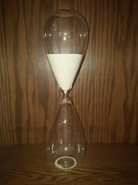 """Large Hour Glass with Sand 20"""" Tall Lancaster, 17601"""